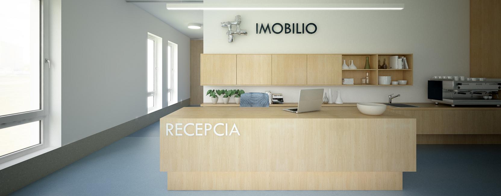 Imobilio - návrh interiérov pre OZ
