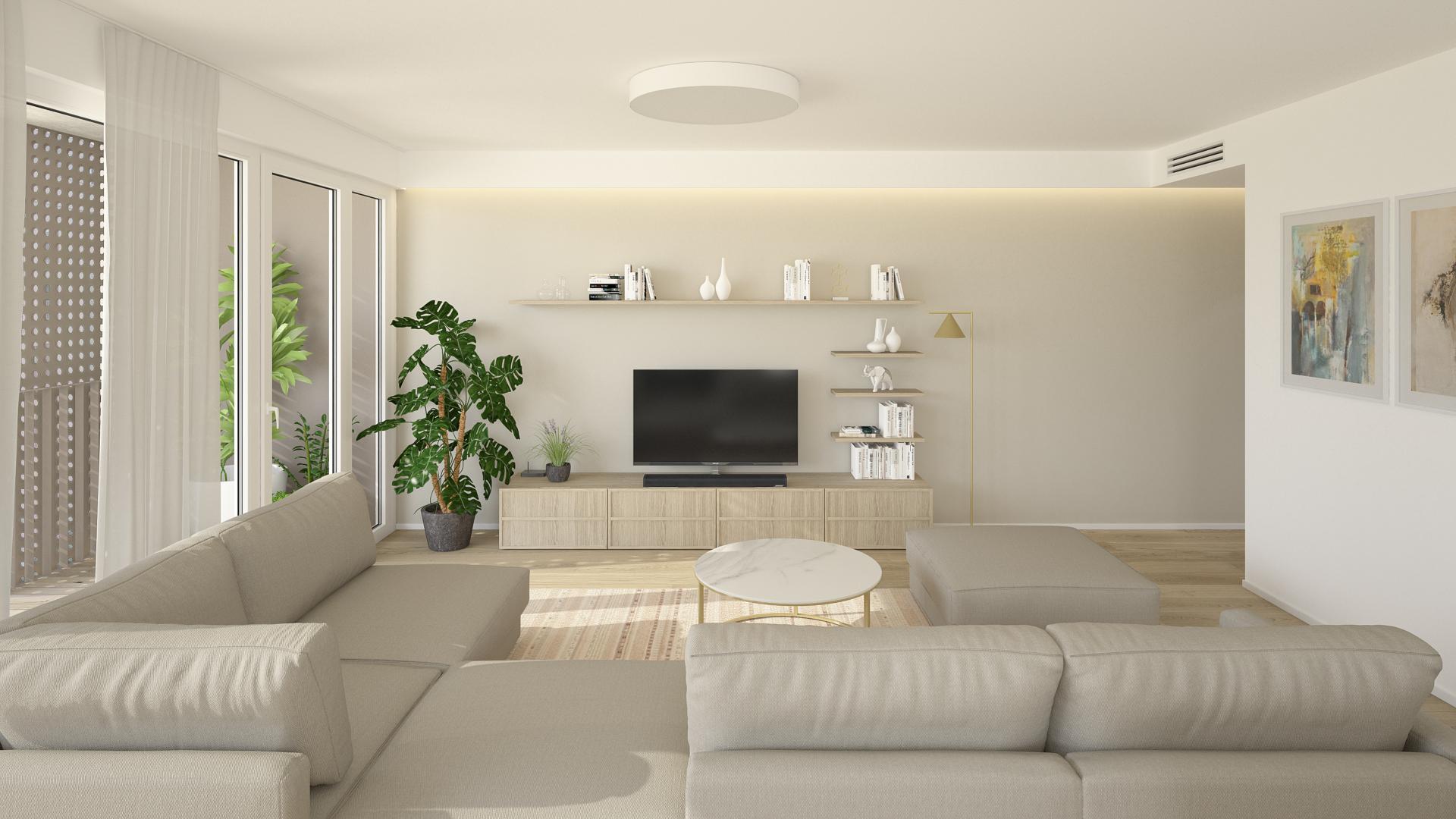 Rezidencie Pri mýte - zariadenie 4 - izbového bytu
