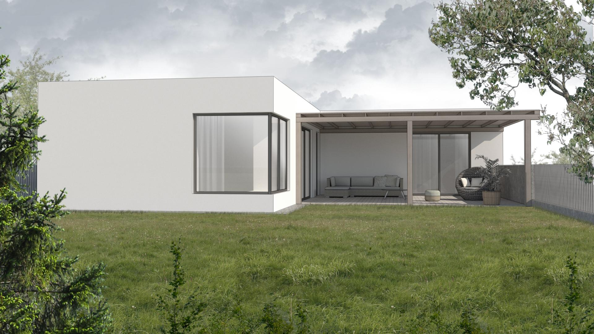 Novostavba rodinného domu - Vrakuňa, Bratislava