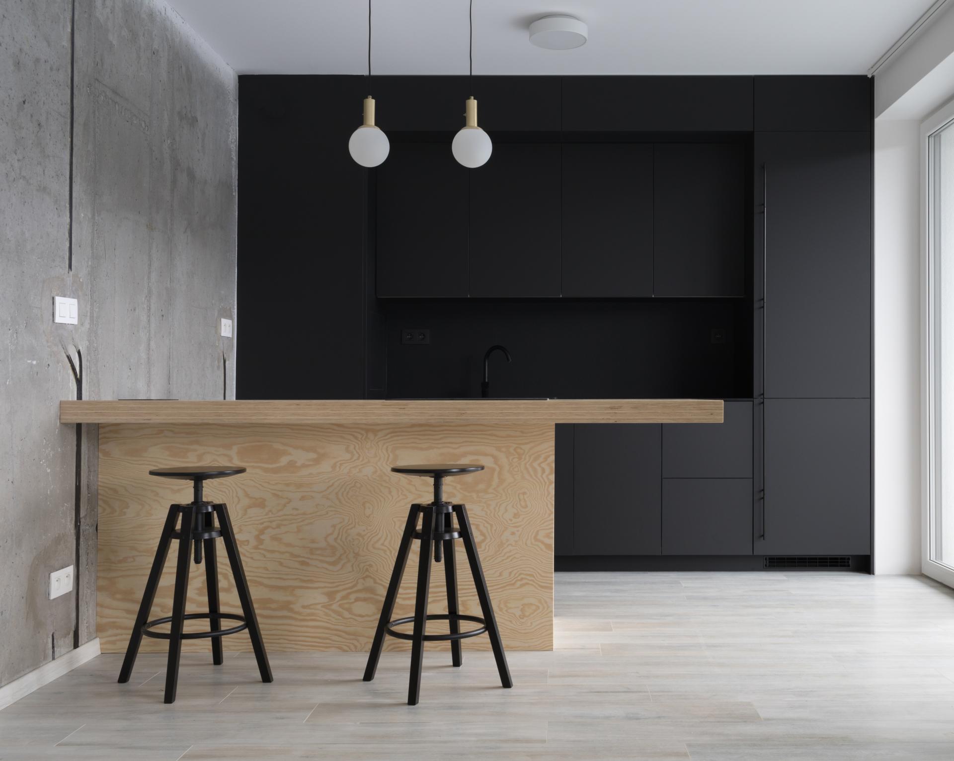 Urban residence - návrh kuchyne