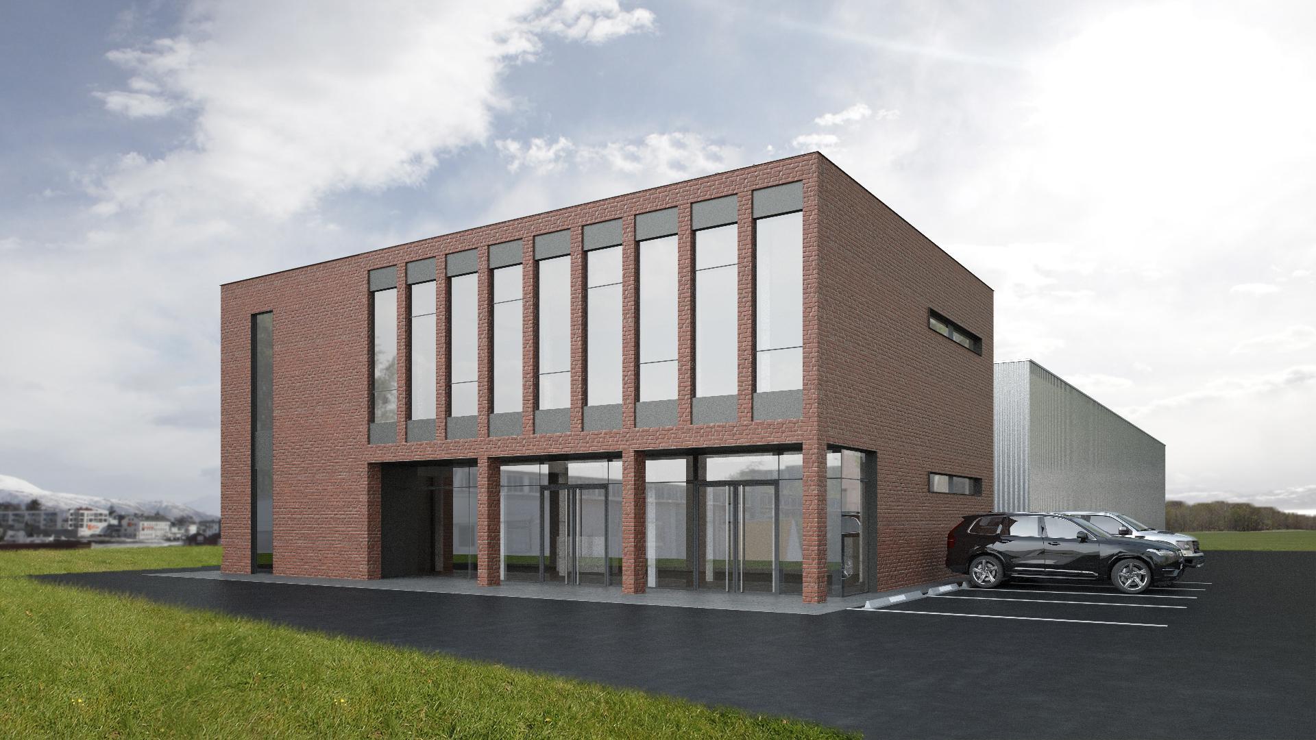 Administratívna budova so showroomom - Nitra