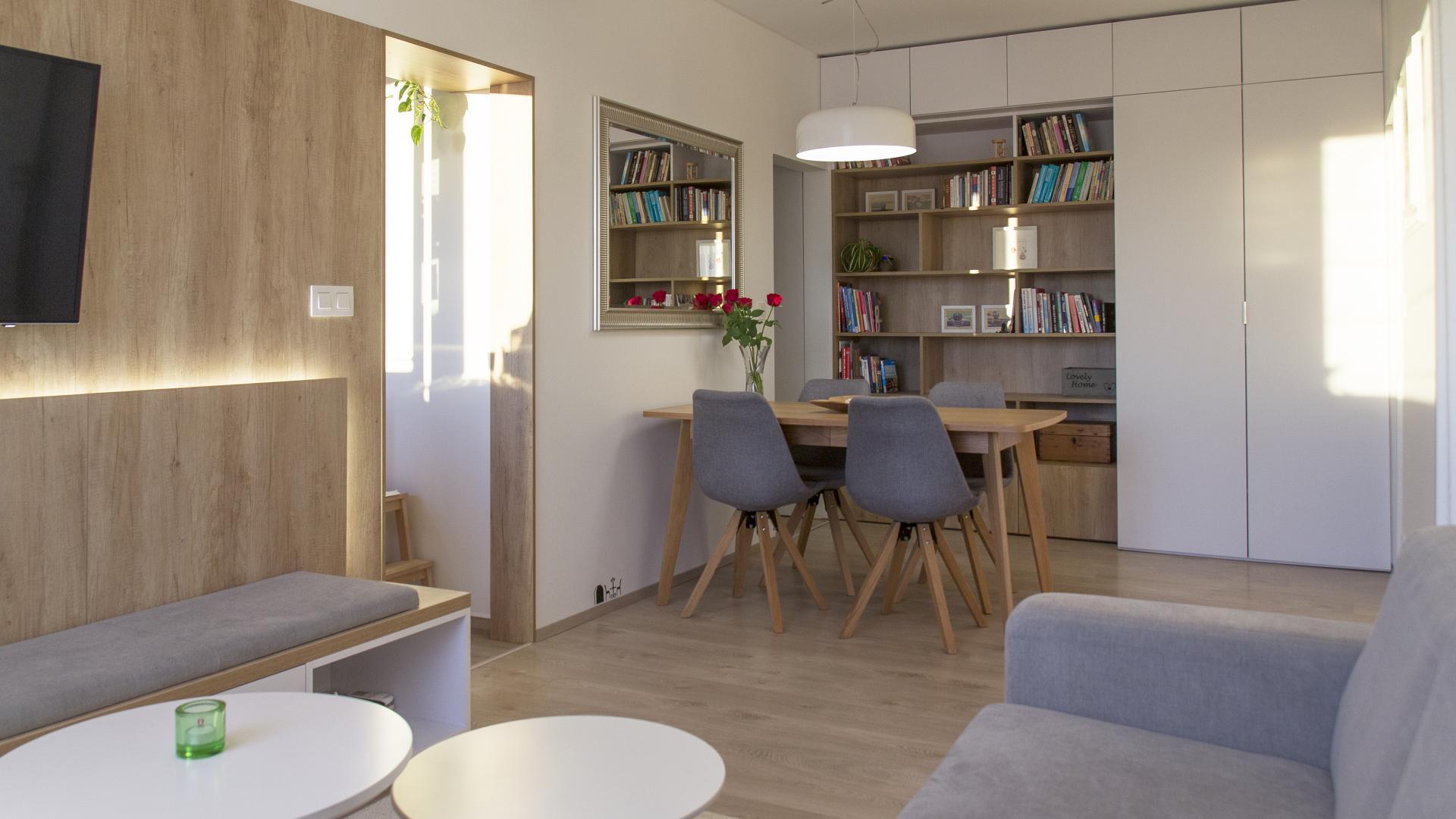 Ružinov - rekonštrukcia 3 - izbového bytu