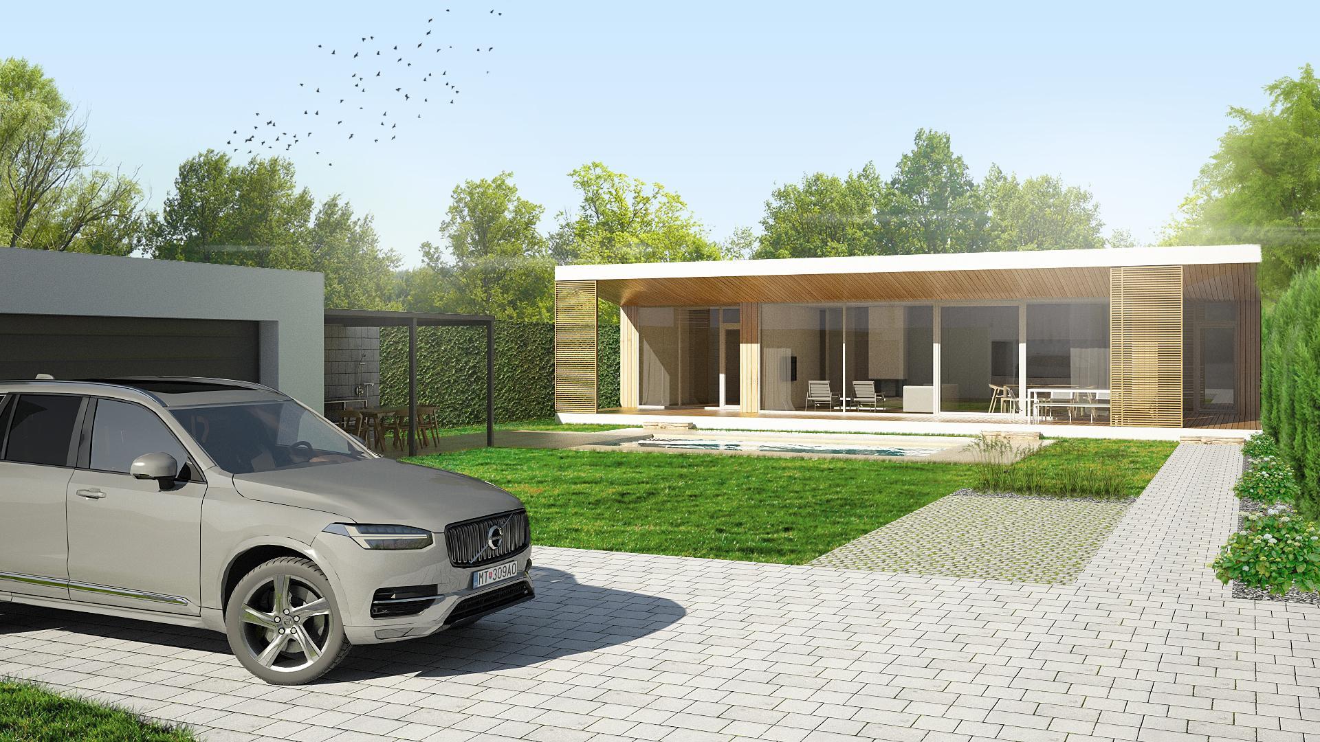 Moderný bungalov - Nitra