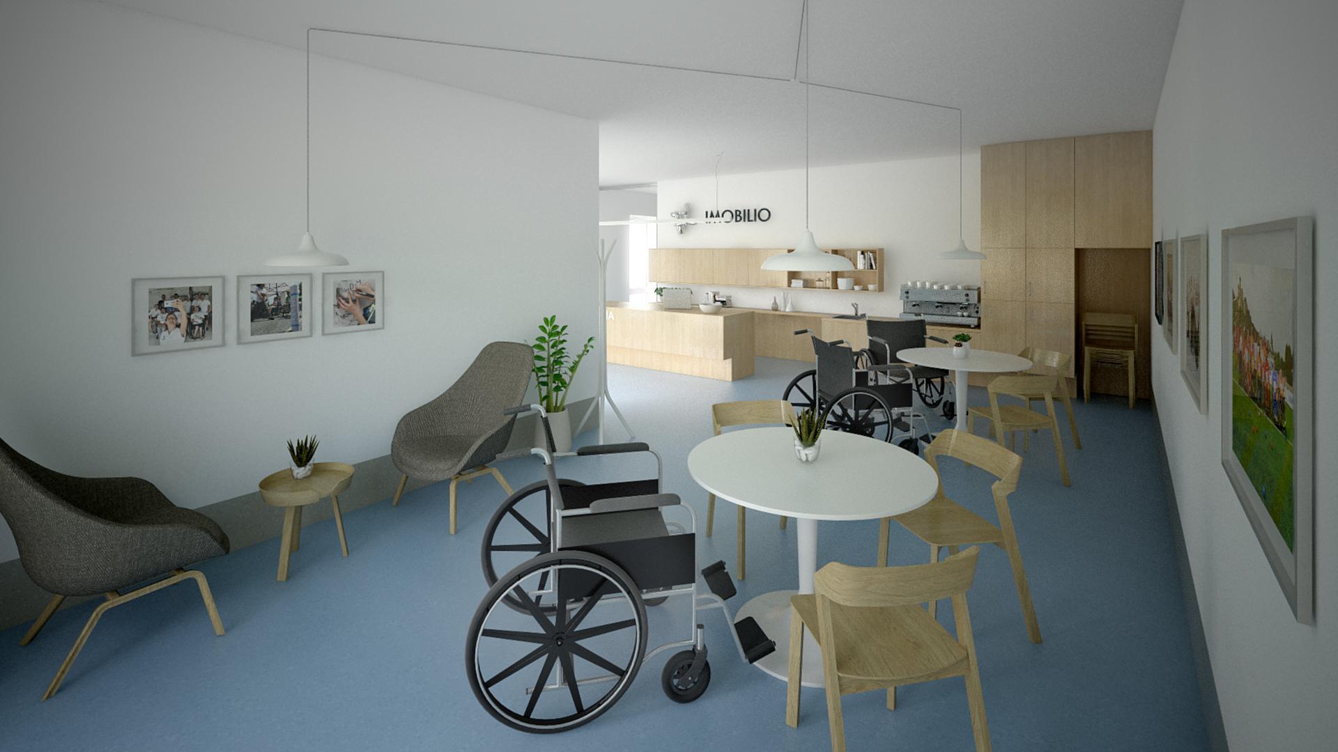 Návrh interiérov pre OZ IMOBILIO